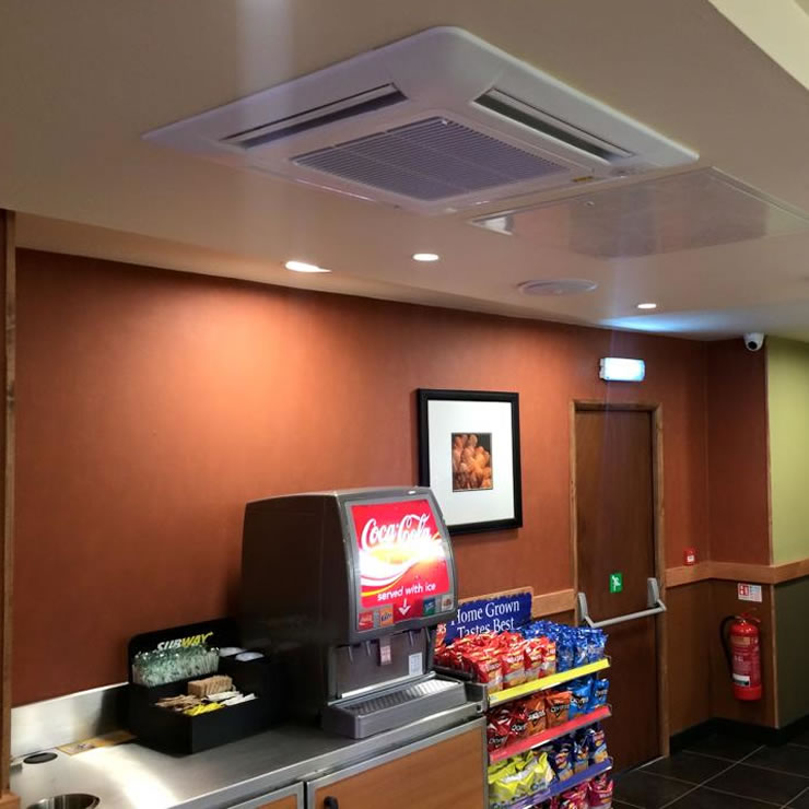 fujitsu air conditioning system for subway derby